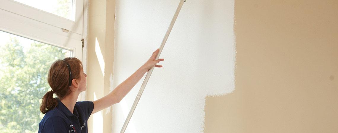 Maler und Lackierer - Anstrich Innenraum