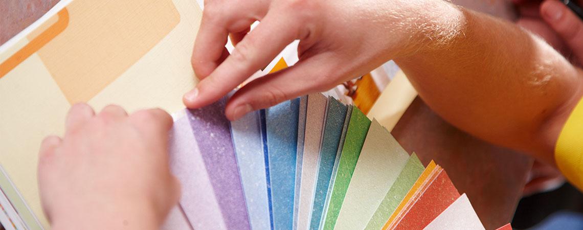 Maler und Lackierer - Farbzusammenstellung