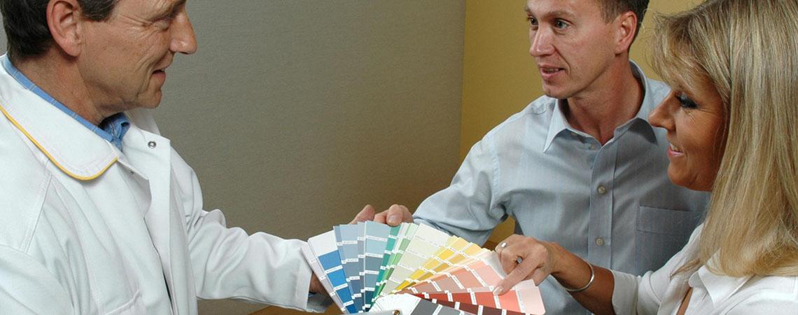 Maler und Lackierer - Kundenberatung